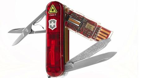 Victorinox stellt derzeit sichersten Speicherstick vor (Bild: Victorinox)