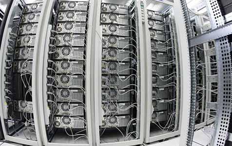 Cloud-Computing l�sst Treibhausgase drastisch steigen