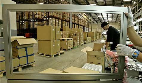 Sony und Toshiba verkaufen LCD-Fabriken (Bild: AP)