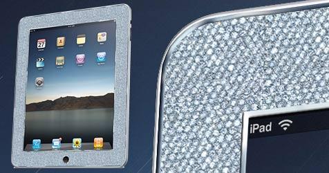 US-Schmuckhändler bietet Luxusmodell des Apple-Tablets (Bild: Mervis Diamond)