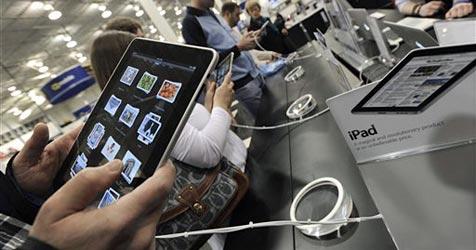 Verkaufsschlager iPad lässt bei Apple die Kassen klingeln