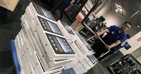 Apple verschiebt weltweiten iPad-Start