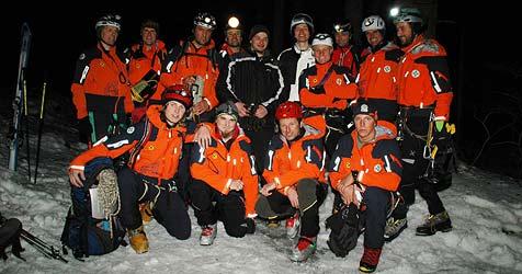 Bergrettung blickt auf einsatzreichen Winter zurück (Bild: Konrad Rauscher)