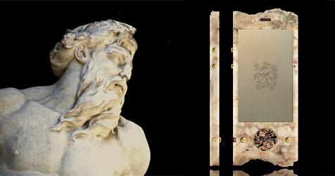 Luxus-Hersteller stellt Konzepthandy aus Marmor vor (Bild: Mobiado)