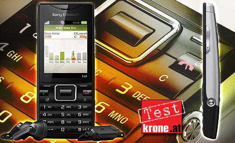 Öko-Handy von Sony Ericsson mit guter Ausstattung