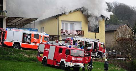 54-Jähriger konnte sich nicht mehr aus dem Feuer retten (Bild: Foto Kerschi)