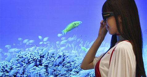 Sharp kündigt erste 3D-Fernseher für Sommer an