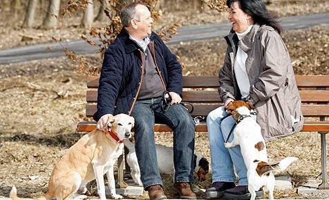 Partnersuche: Mit Hund lässt es sich gut anbandeln (Bild: Foto: Fressnapf/Ulrike Schanz)
