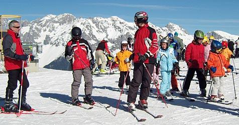 Skischulen am Hochficht kämpfen mit Konkurrenz (Bild: Sepp Pail)