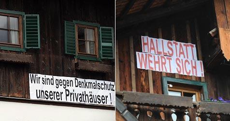 Streit um Hallstatt-Denkmalschutz beigelegt (Bild: APA/BARBARA GINDL)