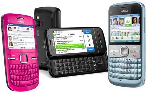 Drei neue Handys mit QWERTZ-Tastatur von Nokia (Bild: Nokia)