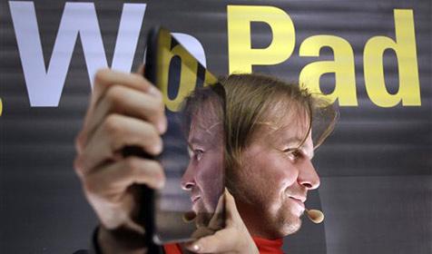Schlechter Start für iPad-Konkurrenten WePad