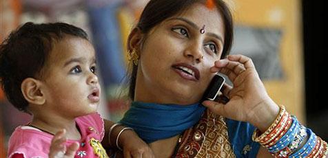 Indien hat mehr Handys als Toiletten
