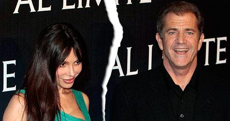 Mel Gibson und Oksana Grigorieva haben sich getrennt