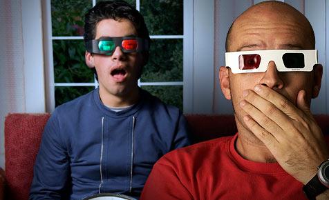 Jeder vierte Zuschauer hat Probleme mit 3D (Bild: © 2010 Photos.com, a division of Getty Images)