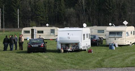 Nomaden sorgen für Ärger in Amstetten - Anrainer in Sorge (Bild: Klaus Kreuzer)