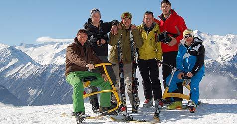 Snowbike-Pionier aus Oberndorf plant Glockner-Abfahrt (Bild: privat)