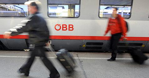 Drei Verbindungen Salzburg-Graz droht die Einstellung (Bild: APA/HERBERT PFARRHOFER)