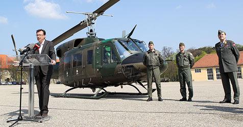 Heer investiert 63 Millionen in Upgrade für Hubschrauber (Bild: APA/GEORG HOCHMUTH)