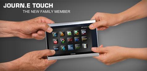 """Neue Details zum Toshiba-Tablet """"Journ.E Touch"""""""