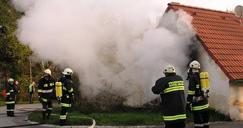 Schlafzimmer in Unterdürnbach niedergebrannt (Bild: Roman Stanek)
