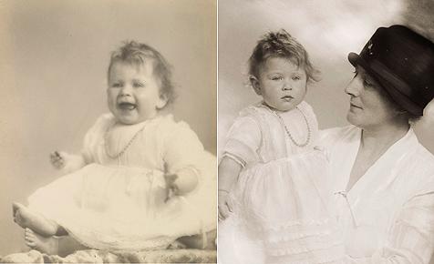 So entzückend war Queen Elizabeth II. als Baby (Bild: EPA/THE ROYAL COLLECTION © HER MAJESTY QUEEN ELIZABETH II)