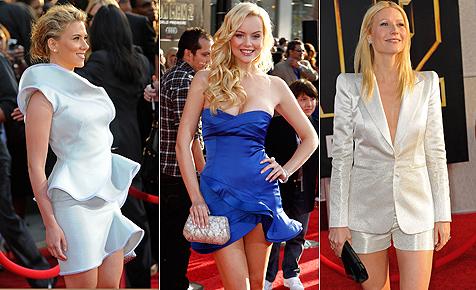 """Stars zeigen bei der Premiere von """"Iron Man 2"""" viel Bein"""