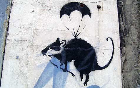 Stadtreinigung entfernt kostbares Künstler-Graffiti (Bild: flickr.com/yaraa)