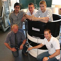 Biogasanlage macht aus Kuhmist Strom fürs Melken (Bild: Melanie Hutter)