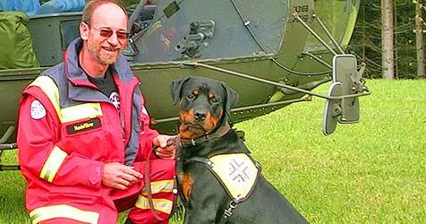 Feiger Tierhasser tötet  Rettungshund mit Gift (Bild: Franz Crepaz)