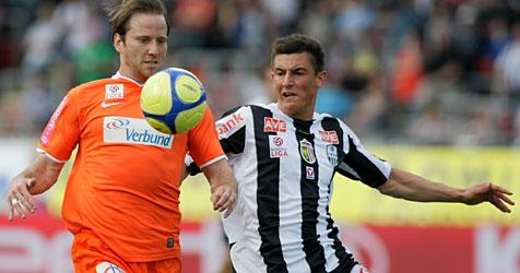 LASK muss sich Austria mit 0:1 geschlagen geben (Bild: APA/RUBRA)