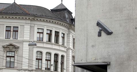 Attrappen von Videokameras geben Rätsel auf (Bild: Markus Tschepp)