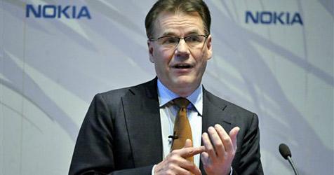 Nokia-Chef Kallasvuo bleibt vorerst im Amt