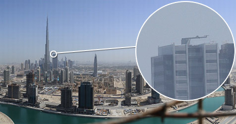 Weltgrößtes Foto zeigt Stadt der Superlative (Bild: gigapan.org)
