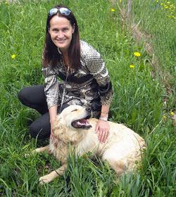 """""""Krone""""-Tier-Lady rettete Hund vor sicherem Tod auf A1 (Bild: Polizei)"""