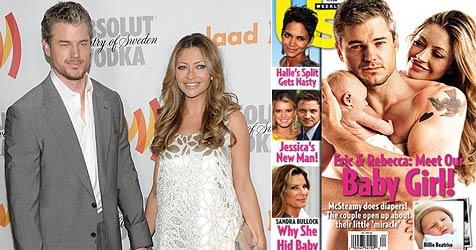 """""""McSteamy"""" posiert nackt für Foto mit seinem ersten Kind"""