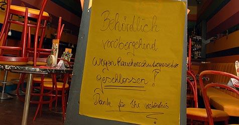 Behörde schließt Raucherlokal in Einkaufszentrum (Bild: Johann Haginger)