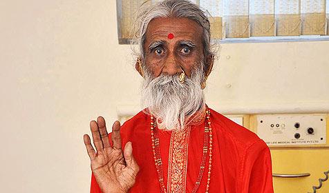 Seit 70 Jahren fastender Yogi bleibt ein Rätsel