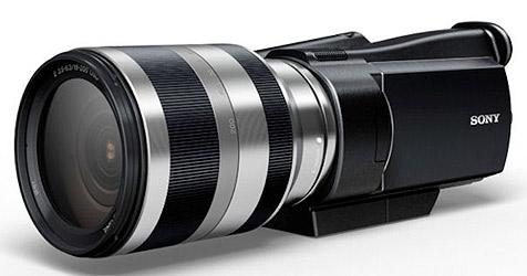 Sony kündigt HD-Camcorder mit Wechselobjektiv an (Bild: Sony)