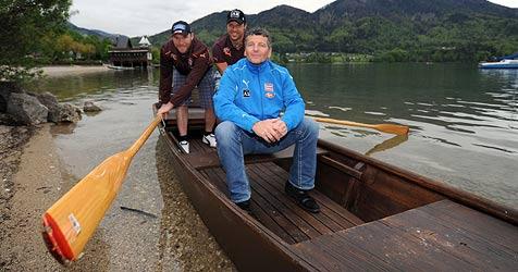 Neue ÖSV-Speed-Gruppe trainiert Kondition in Fuschl (Bild: APA/BARBARA GINDL)
