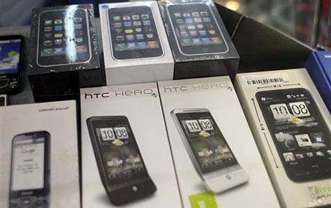 HTC und Android machen weiter Marktanteile gut