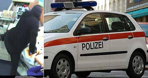 """""""Man in Black"""" unter Druck - leugnet Bankraub weiterhin (Bild: Graf / SID)"""