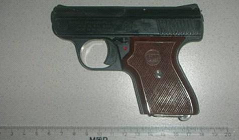 Wiener Neustädter drohte Jugendlichen mit Gaspistole (Bild: Polizei)