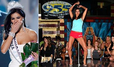 """Aufregung um alte Fotos der  """"Miss USA"""" Rima Fakih"""
