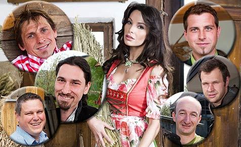 Die neuen Bauern: Das sind Katrin Lampes Kandidaten (Bild: ATV/Ernst Kainerstorfer)