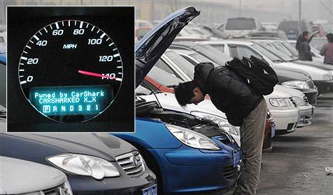 Forscher hacken Auto - kontrollieren Bremsen & Motor (Bild: Center for Automotive Embedded Systems Security/AP)