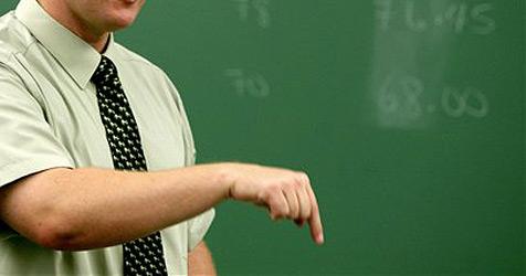 US-Lehrer erklärt Geometrie mittels Attentat auf Obama (Bild: AP)