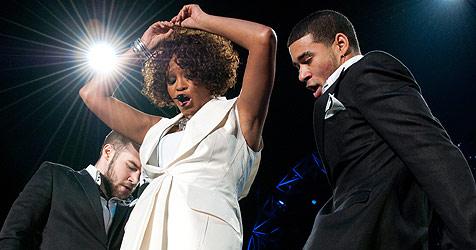 Whitneys skurrile Show vor dankbaren Fans (Bild: Andreas Graf)