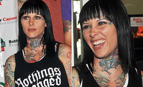 Wie Tattoo-Luder Michelle McGee ihre Affäre vermarktet