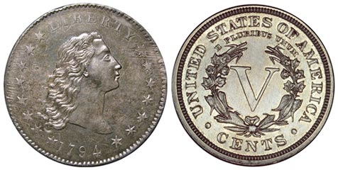 Silberdollar von 1794 für acht Mio. Dollar verkauft